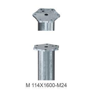 M-114X1600-M24-SRAIGTINIO PAMATO GALVUTE
