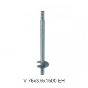 V-76X3.6X1500-EH sraigtinis pamatas
